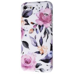 Чехол STR Marble and Flowers Series for iPhone 7/8 - 02 (23008), цена | Фото
