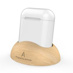 Деревянная подставка для Apple AirPods AHASTYLE Wooden Stand for Apple AirPods (AHA-01160-CLR), цена | Фото