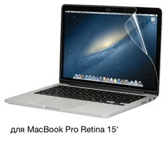 Защитная пленка Screen Guard for MacBook Pro Retina 15 (2012-2015), цена | Фото