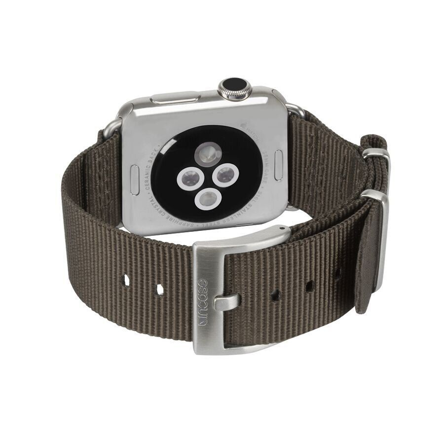 Ремешок Incase Nylon Nato Band for Apple Watch 38/40 mm - Anthracite (INAW10011-ANT)