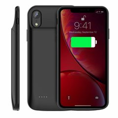 Чехол-аккумулятор USAMS Battery Case 4000 mAh for iPhone XR - Black, цена | Фото