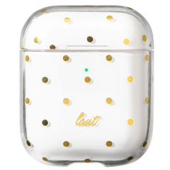 Чехол LAUT DOTTY 360 Pattern Protective Case for AirPods - Pink (L_AP_DO_P), цена | Фото