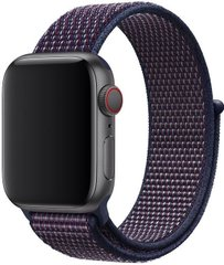 Ремешок STR Sport Loop Band for Apple Watch 38/40 mm - Red/Black, ціна | Фото