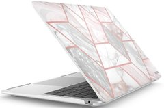 Накладка i-Blason Halo Transparent Case for MacBook Air 13 A1932 (2018-2020) - White (IBL-HALO-AIR13-WH), цена | Фото