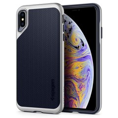 Чехол Spigen для iPhone XS Max Neo Hybrid Gunmetal, цена | Фото