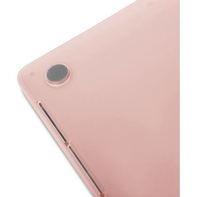 Пластиковый чехол Moshi Ultra Slim Case iGlaze Blush Pink for MacBook Pro 13 with Touch Bar (99MO071302), цена | Фото