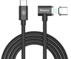 Кабель Baseus Magnet Type-C cable For Type-C 1.5M (00-00021189) - Black, цена | Фото