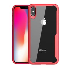 Чехол STR Shockproof Hybrid Case for iPhone X/Xs - Red, цена | Фото