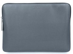 "Папка Knomo Geometric Embossed Laptop Sleeve Silver for Macbook 12"" (KN-14-209-SIL), цена 