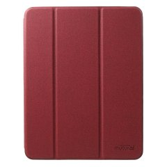 Чехол Mutural Leather Case for iPad Pro 12.9 (2018) - Red, цена | Фото