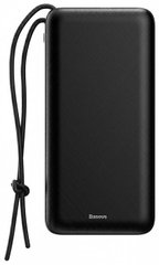 Портативный аккумулятор Baseus Mini Q PD Quick Charger Power Bank 20000mAh Black (PPALL-DXQ01), цена | Фото