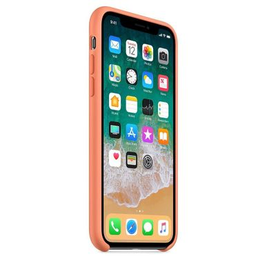 Чехол STR Silicone Case OEM для Apple iPhone X - White, цена | Фото