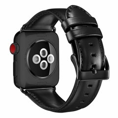Ремешок STR Crazy Horse Retro Style Leather Band for Apple Watch 42/44 mm - Red, цена | Фото