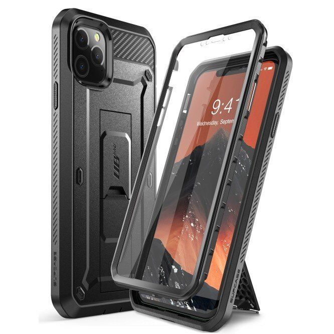 Чехол SUPCASE UB Pro Full Body Rugged Case for iPhone 11 Pro Max - Black (SUP-IPH11PM-UBPRO-BK)