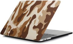 Накладка STR Pattern Hard Shell Case for MacBook Pro 15 (2016-2019) - Green Camo, цена | Фото