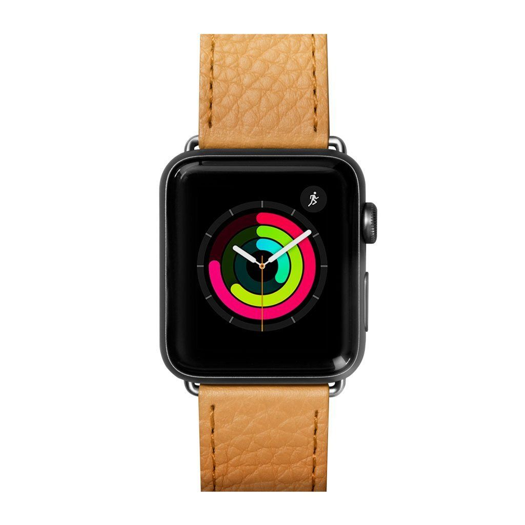 Ремешок LAUT MILANO для Apple Watch 38/40 mm - Ochre (LAUT_AWS_ML_BR)
