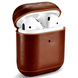 Чехол iCarer Vintage Leather Airpods Protective Case with LED Indicator Hole - Brown, цена | Фото 1