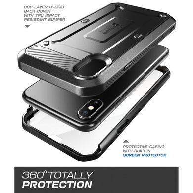 Чехол SUPCASE UB Pro Full Body Rugged Case for iPhone Xs Max - Black (SUP-IPHXM-UBPRO-BK), цена | Фото