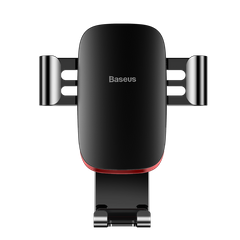Автотримач Baseus Metal Age Gravity Car Mount - Black/Red (SUYL-D01), ціна | Фото