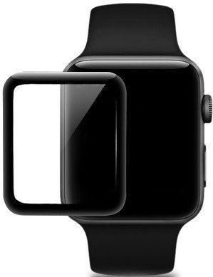Защитное стекло STR Tempered 3D Glass for Apple Watch 1-3 Series - 42 mm
