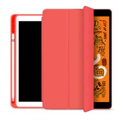 Чехол STR Trifold Pencil Holder Case PU Leather for iPad Mini 5 (2019) - Red, цена | Фото