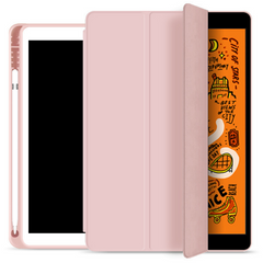 Чехол STR Trifold Pencil Holder Case PU Leather for iPad Air 10.5 (2019) - Red, цена | Фото