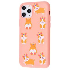 Силиконовый чехол STR Liquid Silicone Cover for iPhone 11 Pro - Corgi, цена | Фото