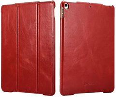 Чехол iCarer Vintage Leather Case for iPad 9.7 (2017/2018) - Red (RID707-RD), цена | Фото