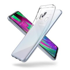 Чехол Spigen для Galaxy A40 Liquid Crystal, Crystal Clear, цена | Фото