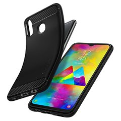 Чехол Spigen для Galaxy M20 Case Rugged Armor Matte Black, цена | Фото