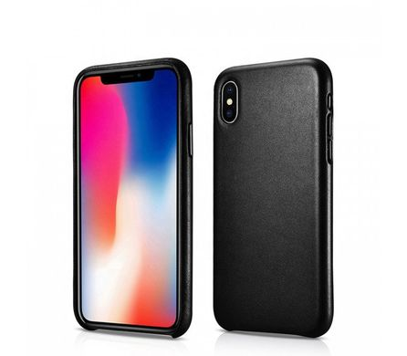 Чехол iCarer Original Genuine Leather Case for iPhone Xs Max - Red, цена | Фото