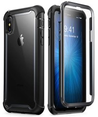 Чехол i-Blason Ares Series Clear Case for iPhone Xs Max - Blue (IBL-IPHXM-ARS-BL), цена | Фото