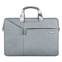 Cумка WIWU Gent Brief Case for 15 inch MacBook Pro - Light Gray, цена | Фото