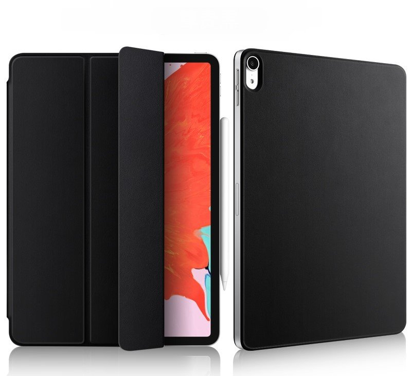 Чехол STR Magnetic Smart Cover for iPad Pro 11 (2018) - Black, цена | Фото
