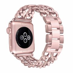 Ремешок STR Chain Stainless Steel Band for Apple Watch 38/40 mm - Black, цена | Фото