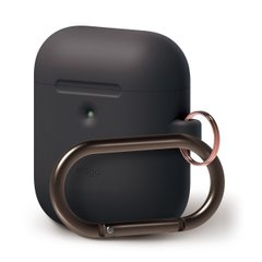 Чехол Elago A2 Hang Case Black for Airpods with Wireless Charging Case (EAP2SC-HANG-BK), цена | Фото