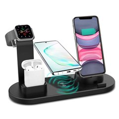 Док-станция STR Wireless Charger Stand 4in1 - White, цена | Фото
