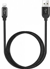 Кабель WIWU Atom Lightning Charging and Synic Cable (1.2m) - Black, цена | Фото