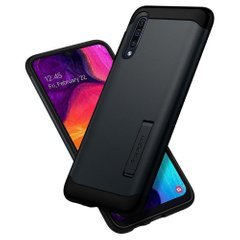 Чехол Spigen для Galaxy A50 Case Slim Armor Black, цена | Фото