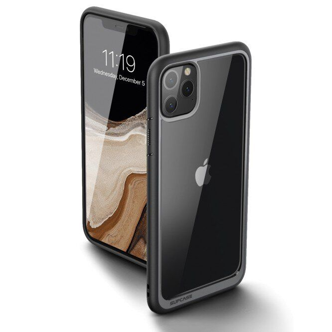 Чехол SUPCASE UB Style Case for iPhone 11 Pro Max - Black (SUP-IPH11PM-UBSTYLE-BK)