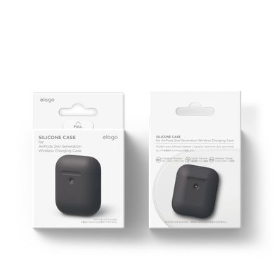 Чехол Elago A2 Silicone Case White for Airpods with Wireless Charging Case (EAP2SC-WH), цена | Фото