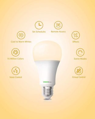 Умная лампа c поддержкой Apple Homekit VOCOlinc Smart Light Bulb Color (L3), цена | Фото