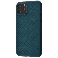 Чехол STR Weaving Case for iPhone 11 Pro Max (forest_green), цена | Фото