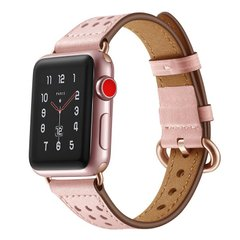 Ремешок STR TheSlim Waist Design Genuine Leather for Apple Watch 38/40 mm - Rose, цена | Фото