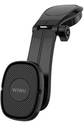 Автодержатель WIWU PL900 Magnetic Suction Bracket 160 градусов - Black, цена | Фото