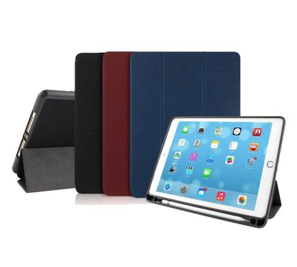 Чехол Mutural Leather Case for iPad 9.7 (2017/2018) - Red, цена | Фото