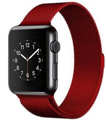 Ремешок STR Milanese Loop Band for Apple Watch 42/44 mm - Space Black, цена | Фото