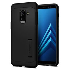 Чехол Spigen для Galaxy A8 (2018) Slim Armor Black, цена | Фото