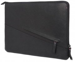 Чехол Decoded Leather Sleeve with Pocket for MacBook Pro 13 (2016-2019) / Air 13 (2018) - Black (D7M13SS2BK), цена | Фото