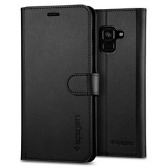 Чехол Spigen для Galaxy A8 (2018) Wallet S Black, цена | Фото